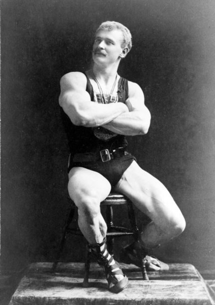 The Eugen Sandow Diet must be powerful, just look at his physique!