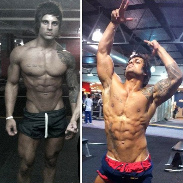 Zyzz posing shortly before the sad zyzz death occurs. He mainly cared about aesthetics in bodybuilding.