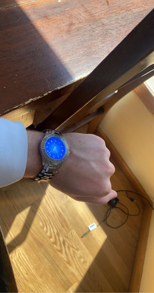 Adam's watch for the Relic Watch Review.