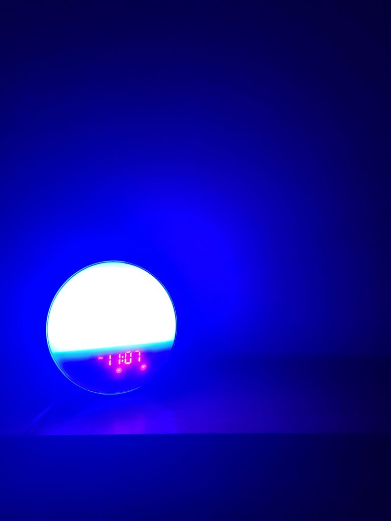 Heimvision Sunrise Alarm Clock in more blue