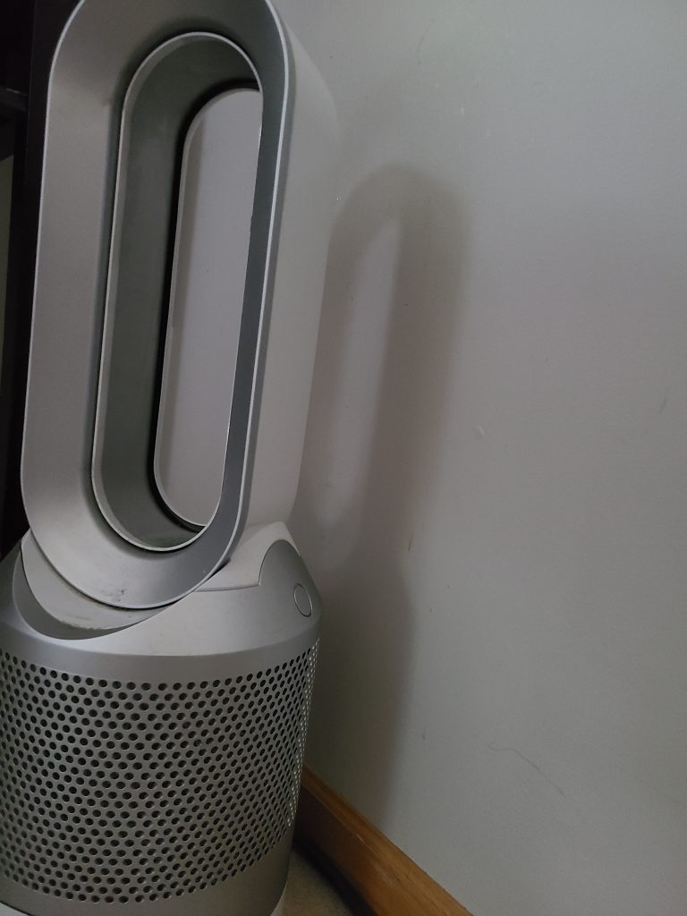 Dyson HP02 Review Left View