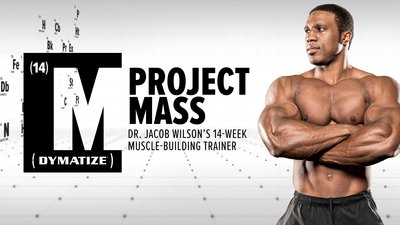 """What I wrote the project mass review on, """"Dr.Jacob Wilson's 14-Week Muscle-Building Trainer"""""""