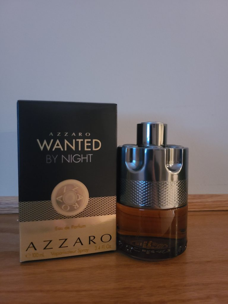 Azzaro Wanted By Night Review, box and bottle.