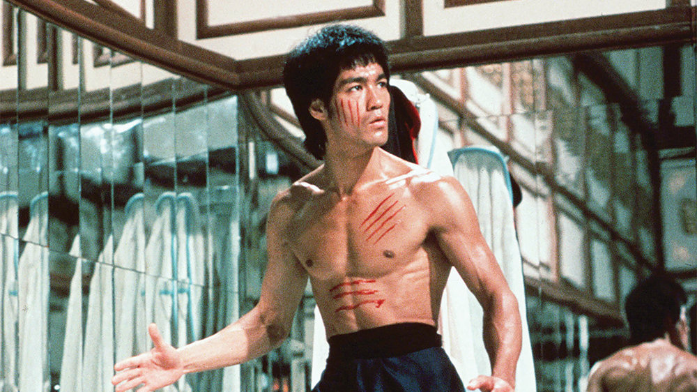 Bruce Lee is one of the most well known famous ectomorphs.