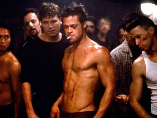 Everybody and their mother wants to look like Brad Pitt did in fight club.