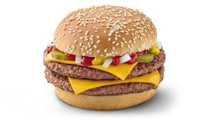 When it comes to McDonalds and bodybuilding, the double quarter pounder with cheese is KING.
