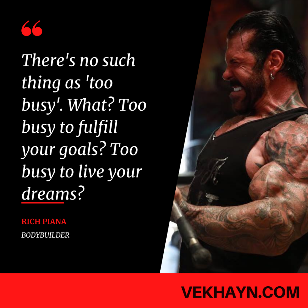 Rich Piana Quotes - https://www.vekhayn.com