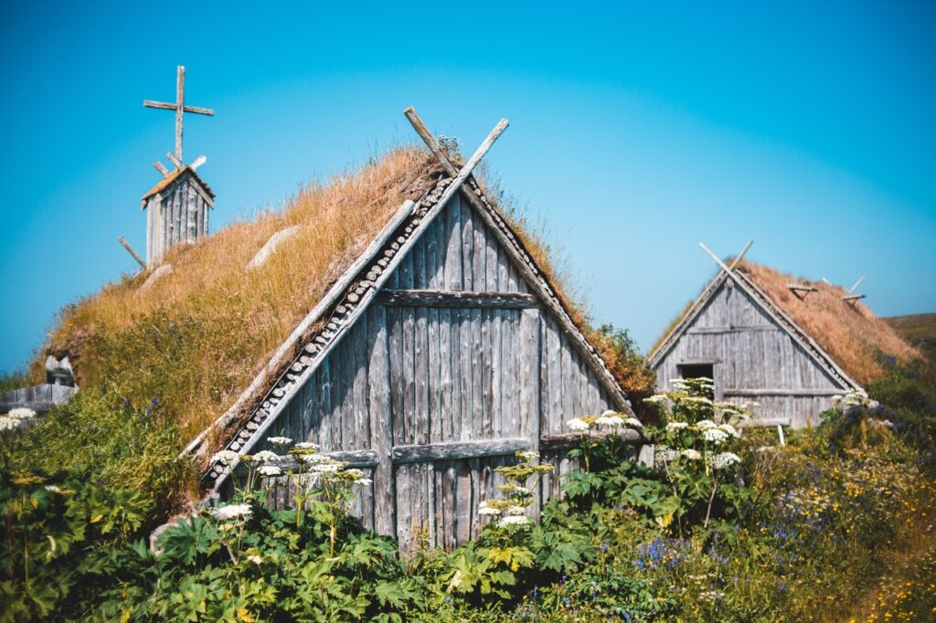 Photo by Erik Mclean from Pexels, with the strength from this viking workout, you might just build your own nordic house and church too.