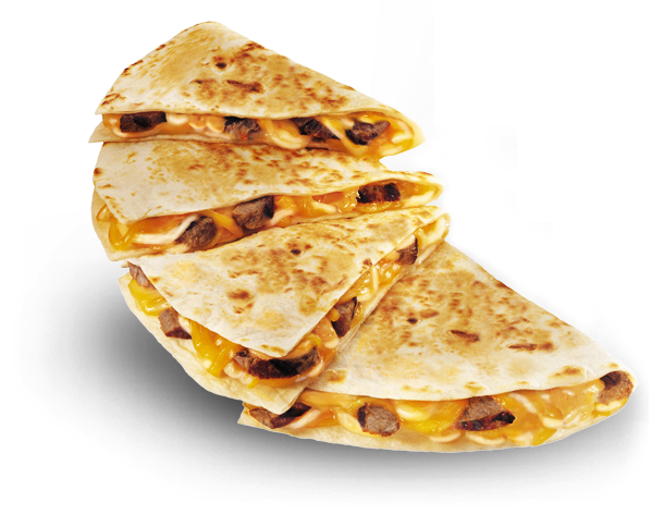If you're using taco bell for bodybuilding, the steak quesadilla is a must.