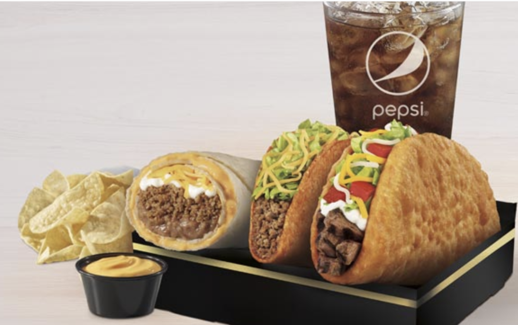 Using taco bell for bodybuilding? The $5 box is the best bang for your buck without breaking the bank.