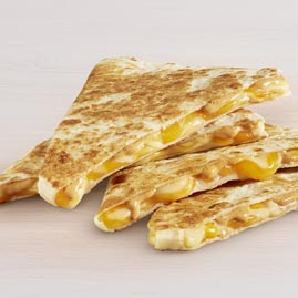 Taco Bell for Bodybuilding, the Cheese Quesadilla is the best item for you macro wise.