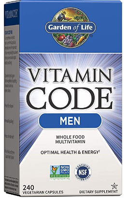 The Garden of Life Vitamin Code is one of the best multivitamins for bodybuilders out there.