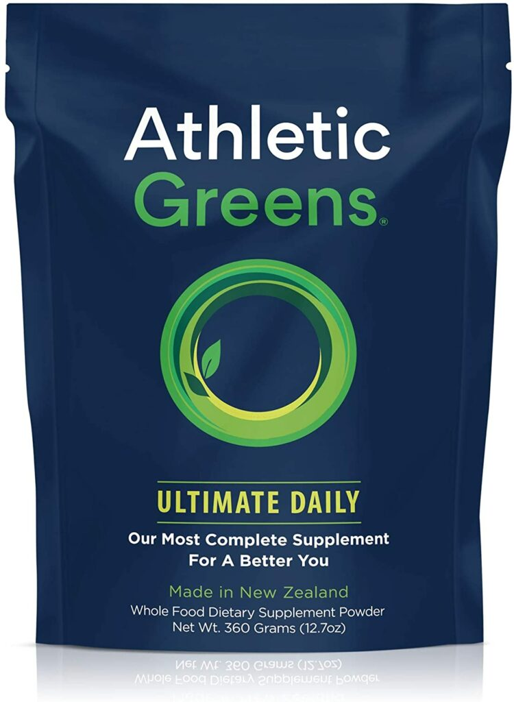One of the best multivitamins for bodybuilders is the Athletic Greens.
