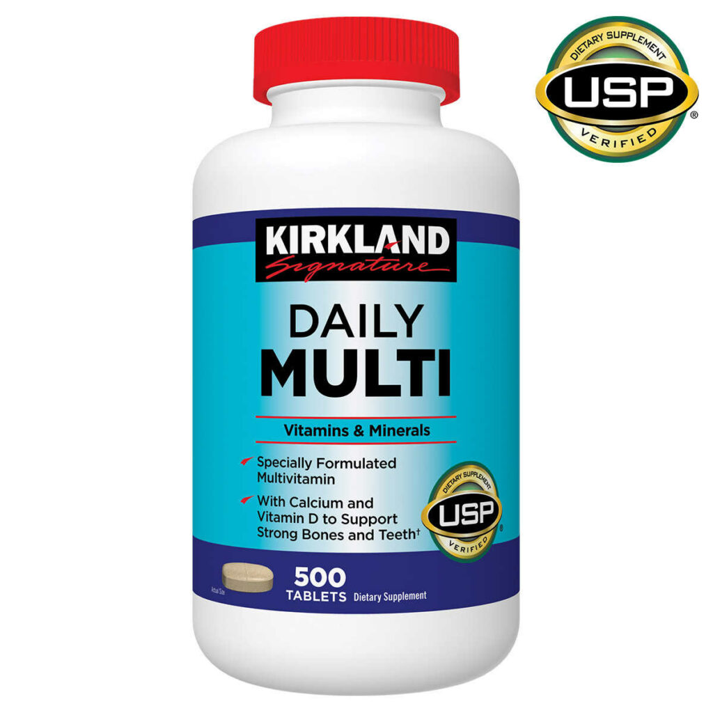 One of the best multivitamins for bodybuilders is the Kirkland Daily Multivitamin.