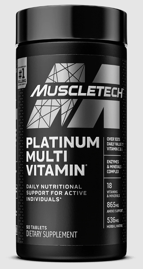 One of the best multivitamins for bodybuilders is the MuscleTech Platinum Multivitamin.