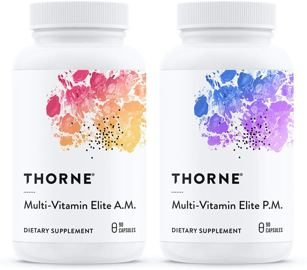 One of the best multivitamins for bodybuilders is the Thorne Multivitamin.