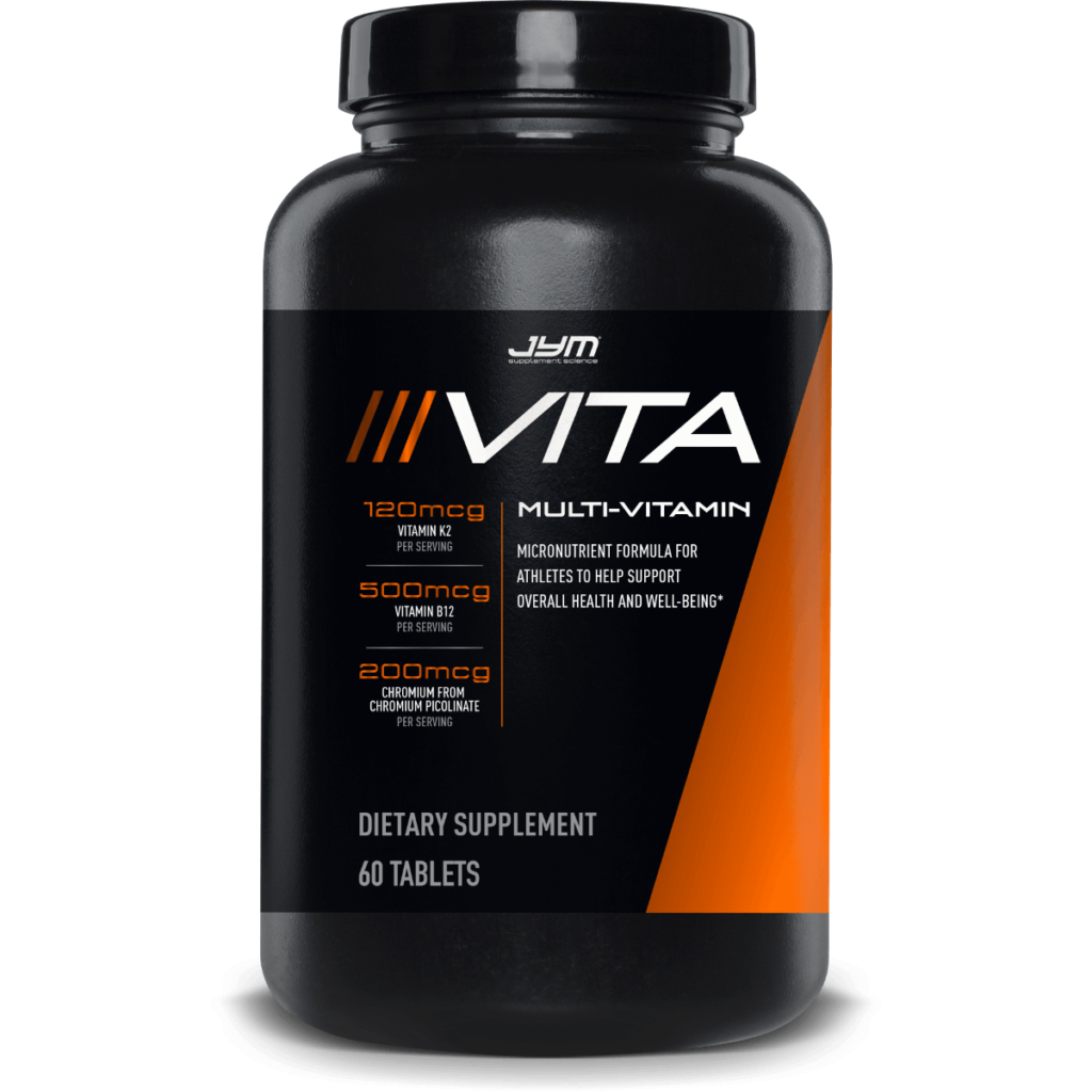 One of the best multivitamins for bodybuilders is the Vita JYM Multivitamin