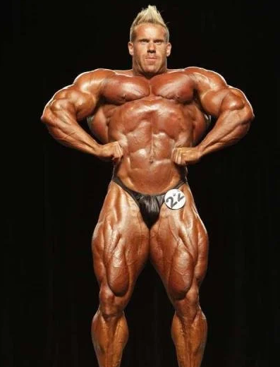 Front Lad Spread, one of the most advanced bodybuilding poses out there.